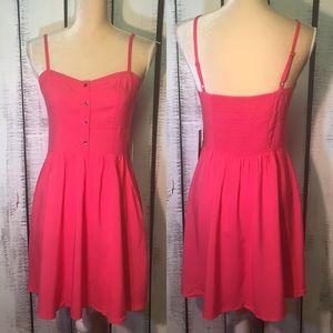 Express Pink Sundress Small❤️